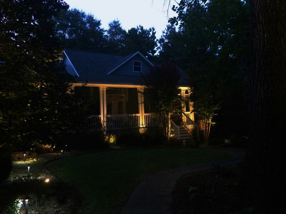 Outdoor Exterior Landscape Lighting